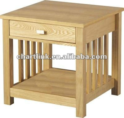 Beautiful oak bedroom table , Please click to get details