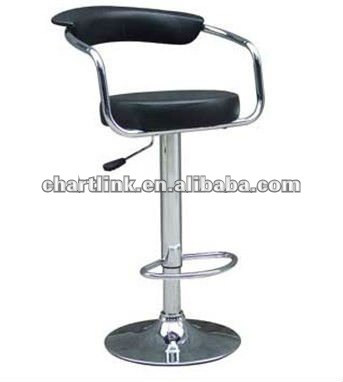PU SWIVEL BAR CHAIR with gas lift 